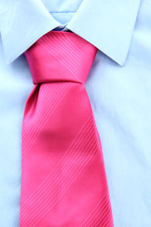 tie on shirt close-up Stock Photo - 17521780