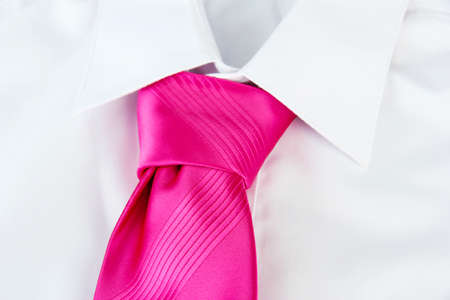 tie on shirt close-up Stock Photo - 17520400