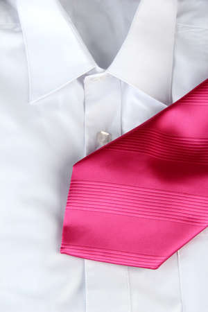 tie on  shirt close-up Stock Photo - 17522015