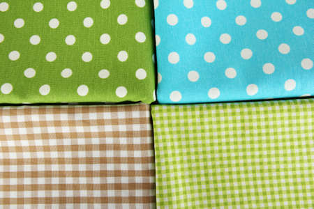 Color mottled fabrics close-up background photo