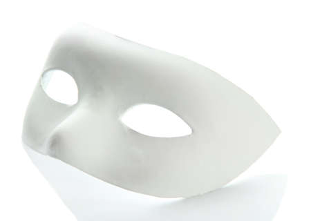 Mask, isolated on white photo