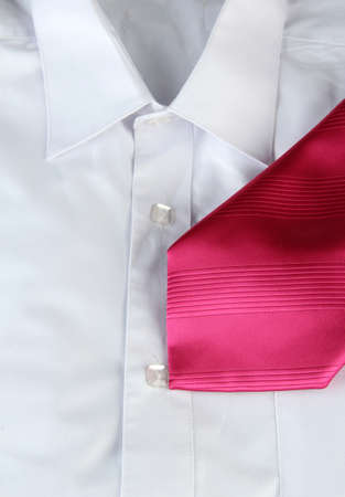 tie on  shirt close-up Stock Photo - 17944549