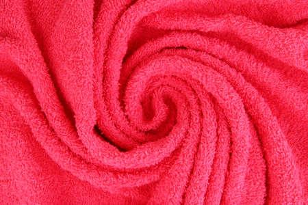 wellness background: Towel texture close up