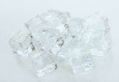 Ice isolated on white Stock Photo - 18579224