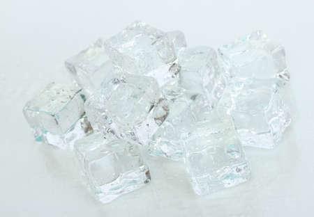 Ice isolated on white Stock Photo - 18579224