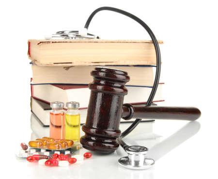 misbehavior: Concept of forensic medicine close up