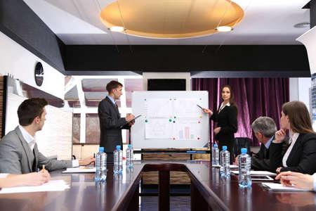 training: formation d'affaires au bureau