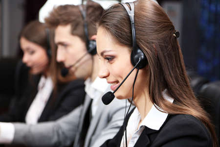 complaints: Call center operators at work