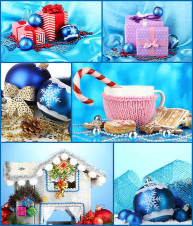 Christmas Holiday Collage photo