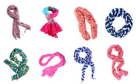 sciarpe: Collage di sciarpe
