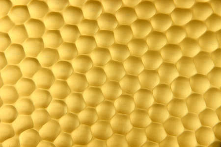 Texture honeycombs close-up background photo