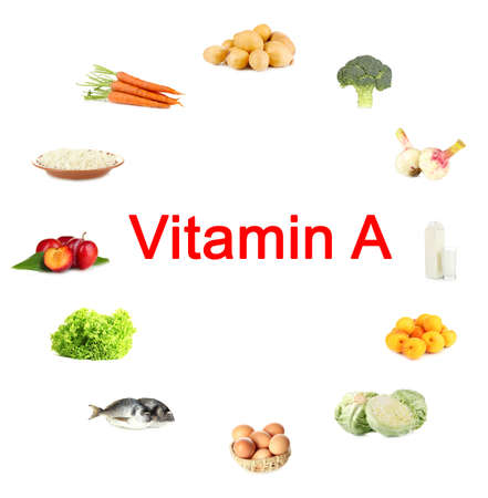 Products which contain vitamin A photo