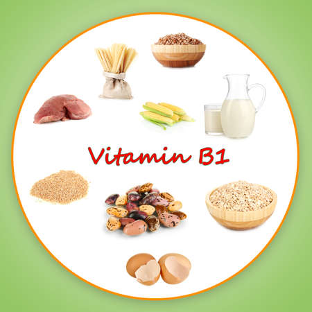 group b: Products which contain vitamin B1