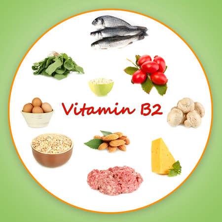 contain: Products which contain vitamin B2