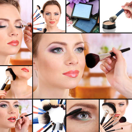 Make-up collage photo