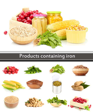 Products containing iron Stock Photo - 22100596