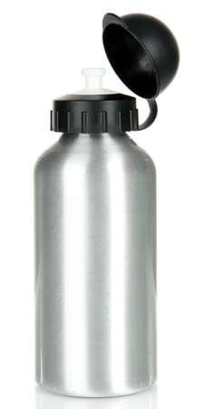 bottle water: Sports bottle isolated on white Stock Photo
