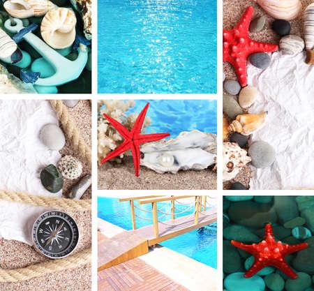 corall: Sea theme collage