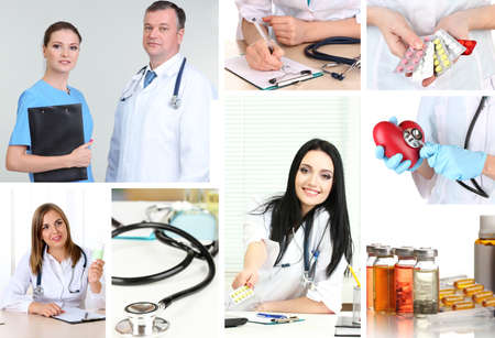 Medical concepts collage photo