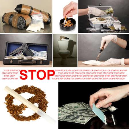 drug dealer: Drug trafficking concept