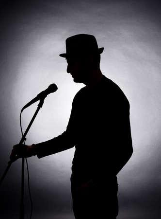 musicians: Musician silhouette