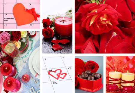 Valentines Day collage photo