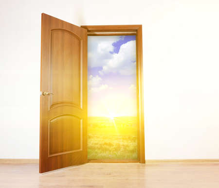 open air: Open door to new life in room