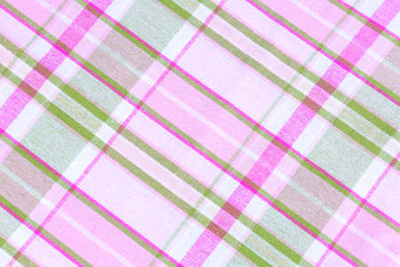 Checkered textile background photo