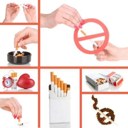 Concept of stop smoking photo