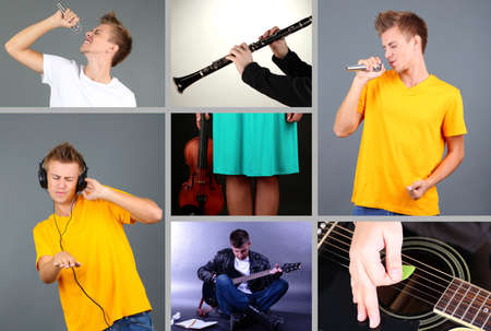 Music Collage photo