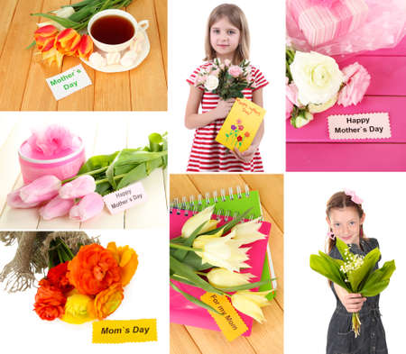 Mothers day collage photo