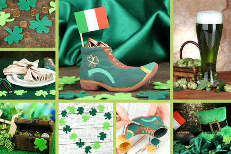 Patrick's Day collage photo