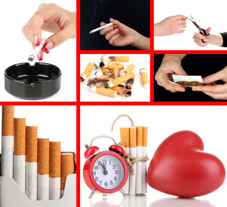 Concept of stop smoking photo