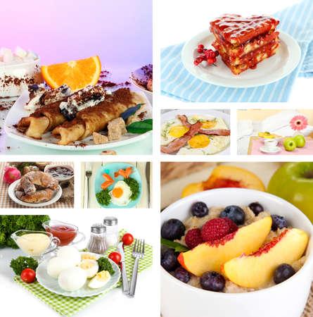 Breakfast collage Stock Photo - 26690811