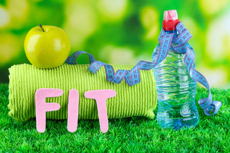 Fitness and healthy life. Conceptual photo photo