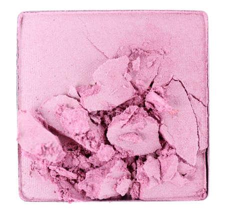 Crushed eyeshadow isolated on white Stock Photo - 28184303