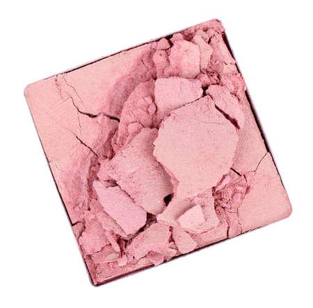 Crushed eyeshadow isolated on white Stock Photo - 28166645