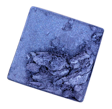 Crushed eyeshadow isolated on white Stock Photo - 28166646