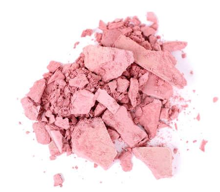 Crushed eyeshadow isolated on white Stock Photo - 28184125