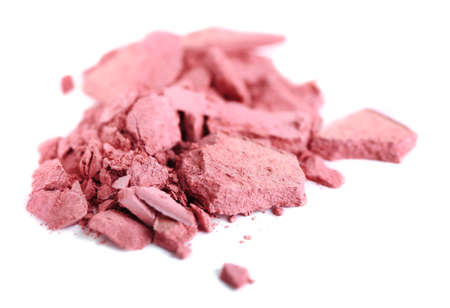 Crushed eyeshadow isolated on white Stock Photo - 28223057