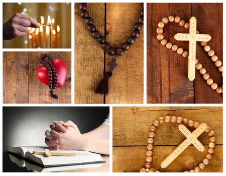 Religion collage photo