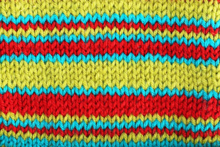 Knitted fabric background photo