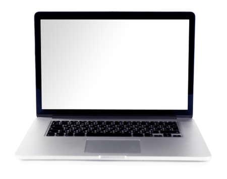 laptop isolated: Laptop isolated on white