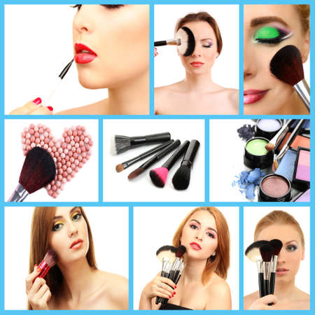 Make-up collage photo