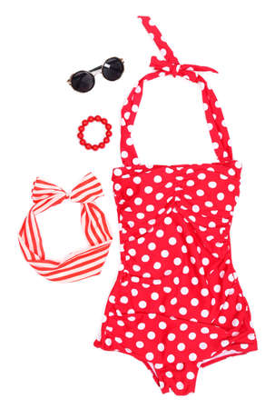 summer clothes: Swim suit and summer accessories
