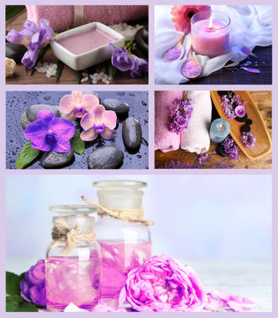 collage spa: Collage de spa