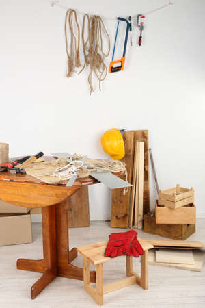 tinkering: Working tools in workshop