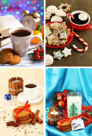 Christmas sweets collage photo