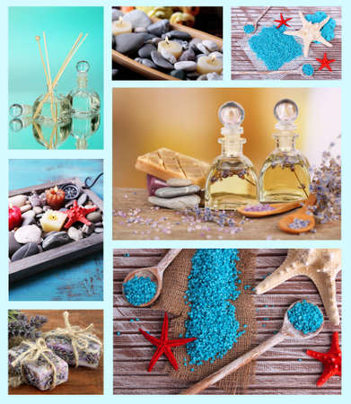 Spa collage photo