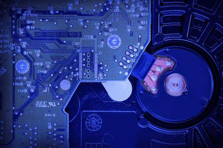 ide: IDE hard disk drive close-up